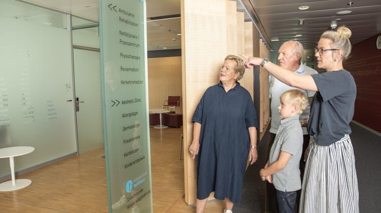 Das «KSA am Bahnhof» ist ein moderner, kundennaher und effizienter Multiklinikbetrieb für spezialisierte, ambulante Behandlungen und Therapien, inklusive eines Praxiszentrums. (Bild: zvg)