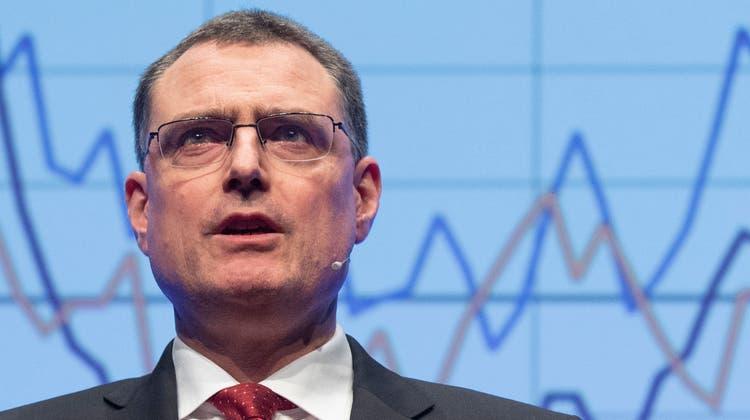 Herr über eine Bilanzsumme von über 1000 Milliarden Franken: Thomas Jordan, Präsident des SNB-Direktoriums. (Alex Spichale / AGR)
