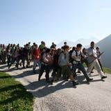 An der Kreisschule Aarau-Buchs dürfen nur Jugendliche ins Lager, wenn sie geimpft, genesen oder getestet sind. (Symbolbild: Archiv)