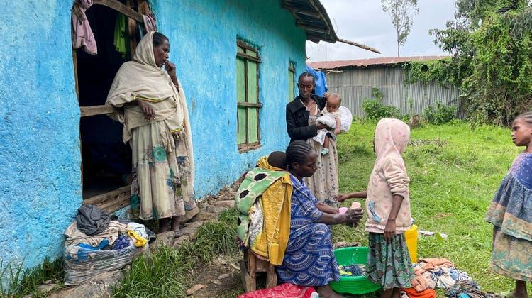 Der humanitäre Bedarf in Äthiopien ist enorm. (Symbolbild) (Keystone)