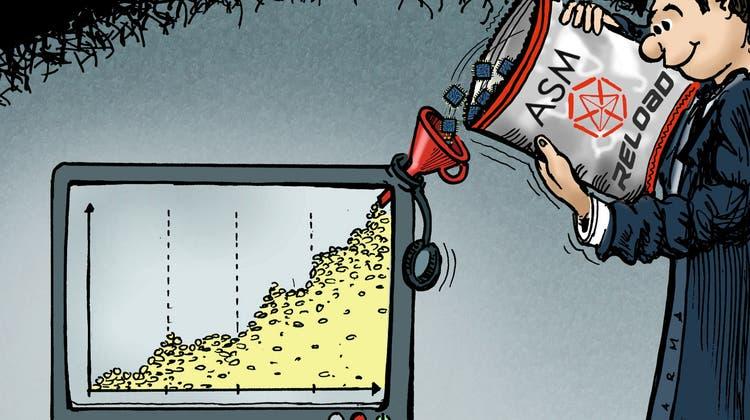 ASM dürfte künftig mehr Gelder ausschütten. (Illustration: Marco Ratschiller)
