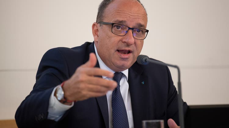 Markus Dieth: «Gewinnsteuersenkung wird ertragsstarke Unternehmen anziehen.» (Michael Wuertenberg)