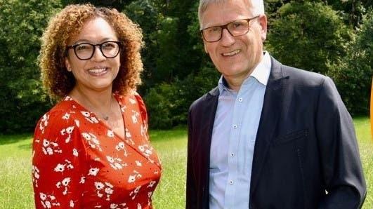 Daniel Räber (bisher) und Carolynn Handschin-Tanner (neu) in den Gemeinderat Muri