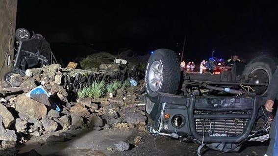 Tornado wirbelt auf italienischer Insel Autos durch die Luft – zwei Tote