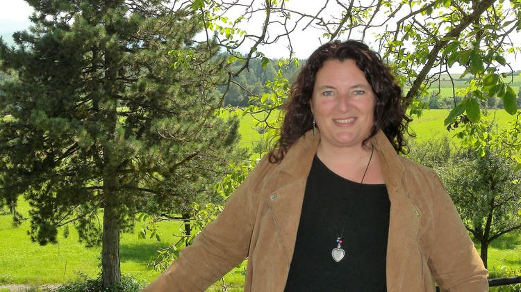 Tanya Birri liebt die schöne und friedliche Landschaft in Kappel. (Marianne Voss)