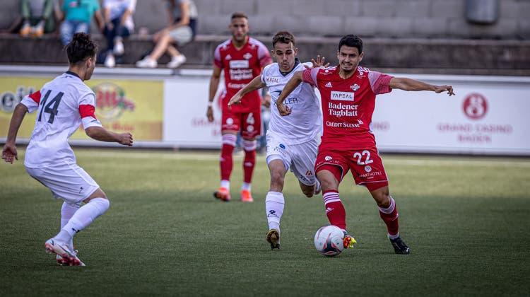 Der FC Baden gewann erneut – wie schon gegen den FC Winterthur II. (Dani Mercier)
