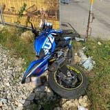 Das Motorrad des Verunfallten. (Kapo SO)