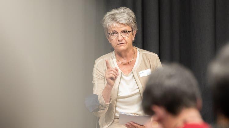 Maya Bally komplettiert das Fraktions-Präsidium der Mitte. (Fabio Baranzini)