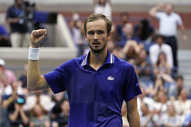 Ein überraschender, aber logischer Sieger: Daniil Medwedew.