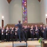 Der Thurgauer Festchor während seines Auftritts beim Fest der Chöre in der Stadtkirche. (Bild: Christine Luley)