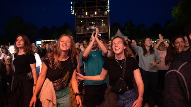 Mindestens für das Publikum am Heitere Open Air war es ein Festivalerlebnis fast wie vor der Pandemie. (Bild: Boris Bürgisser)