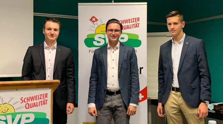 Parteivorstand der SVP Stadt Olten wird jünger
