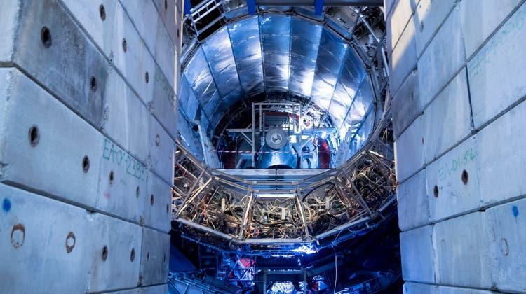 Nach Vorbild des Cern in Genf (Bild) soll in Südosteuropa ein Zentrum für wissenschaftliche und technologische Forschung entstehen. (Keystone)