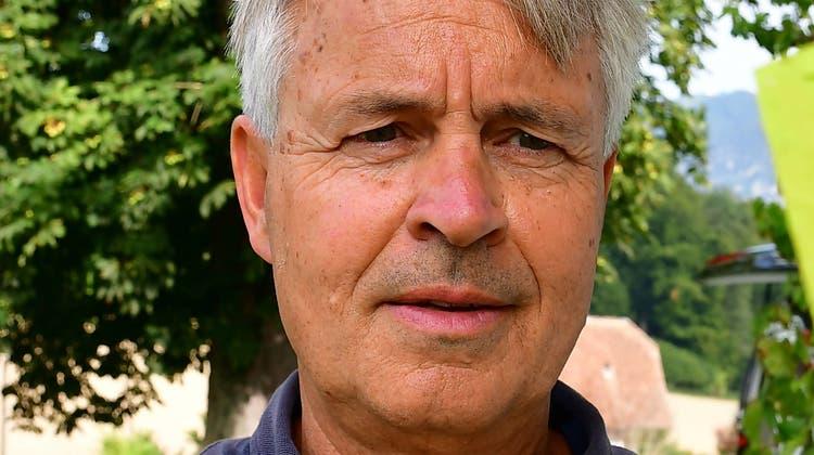 Sammy Deichmann, Künstler aus Aedermannsdorf. (Zvg)