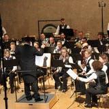 Die Musiker des Symphonischen Blasorchesters Kreuzlingen. (Bild: Manuela Olgiati)