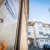 Wegweiser zum Bezirksgericht Frauenfeld an der Zürcherstrasse 237a. (Bild: Reto Martin)