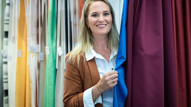 Seit diesem Jahr ist NinaStrapp-Aemissegger Geschäftsführerin der Eskimo Textil AG. (Reto Martin)