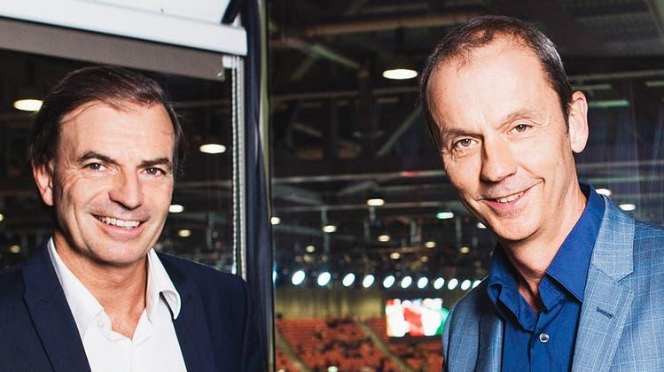 Nehmen Abschied: Heinz Günthardt und Stefan Bürer. (Valeriano Di Domenico/Freshfocus / freshfocus)