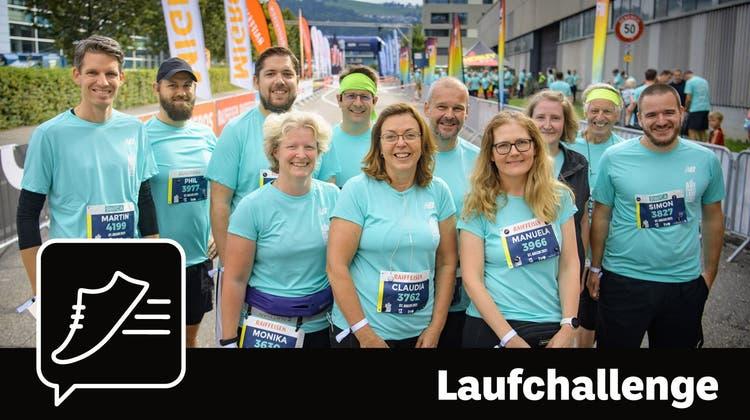 Einige Community-Mitglieder vor dem Start zum 10-Kilometer-Lauf. (Bild: Michel Canonica (St.Gallen, 12. September 2021))