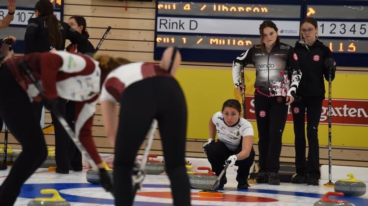 Die St.Gallerin Malin Da Ros (Mitte) belegt mit ihrem Team den dritten Schlussrang. (Bild: Lukas Würmli)