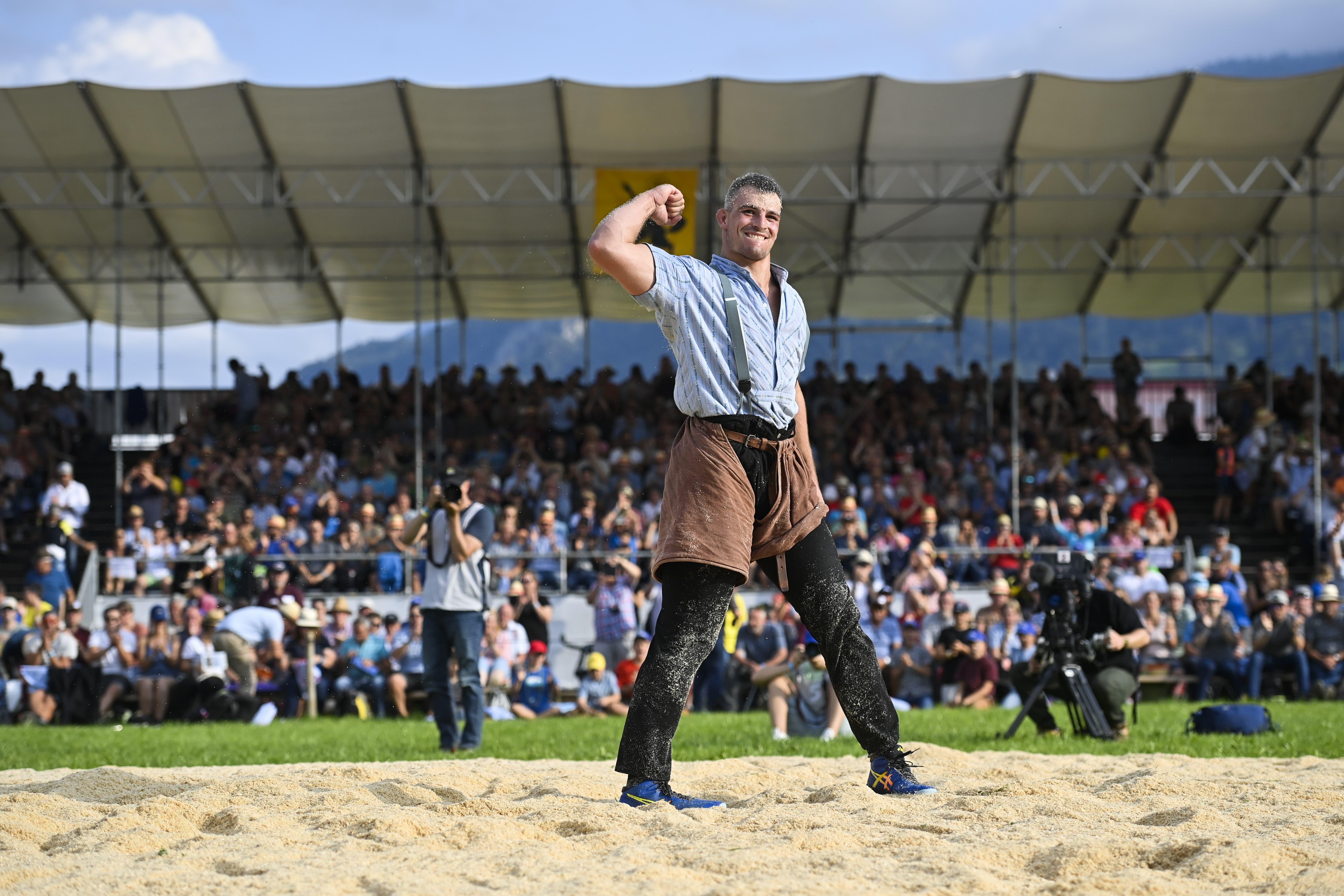 Samuel Giger: Der 23-jährige Thurgauer dominierte die Saison mit sieben Kranzfestsiegen und ist Favorit in Kilchberg.