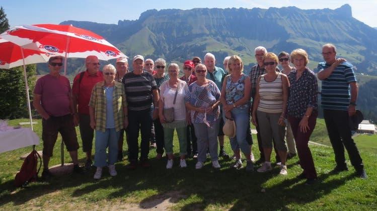 Satus-Männerriege Olten: Familien-Ausflug auf die Marbachegg