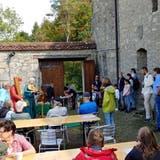 Am Kulturtag Thal gab es auf der Burg Alt-Falkenstein in der Klus Minnegesang zu geniessen. (Linda Dagli Orti)