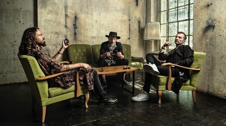 Das Funk-Trio The Next Movement(v.l.) : Sam Siegenthaler, J.J. Flück und Pascal «P» Käser. (zvg)