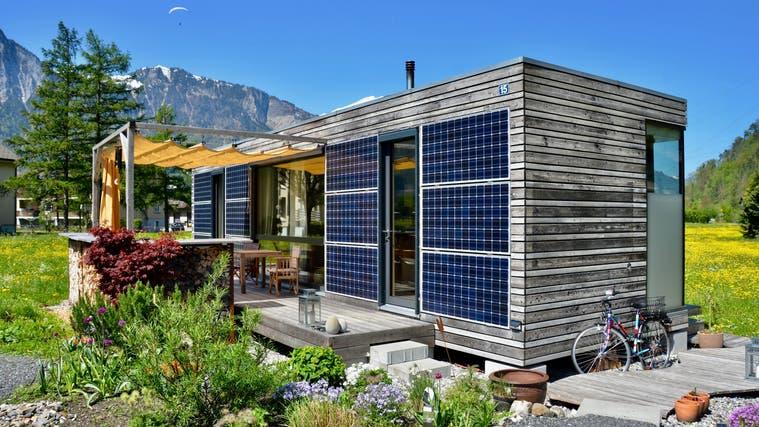 Das Ökominihaus von Tanja Schindler steht in Altdorf – so sollen auch jene in Merenschwand bald aussehen. (zvg)