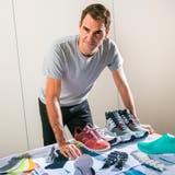 Roger Federer rüstet sich für den Lauf an die Börse. (Alexander Coggin)