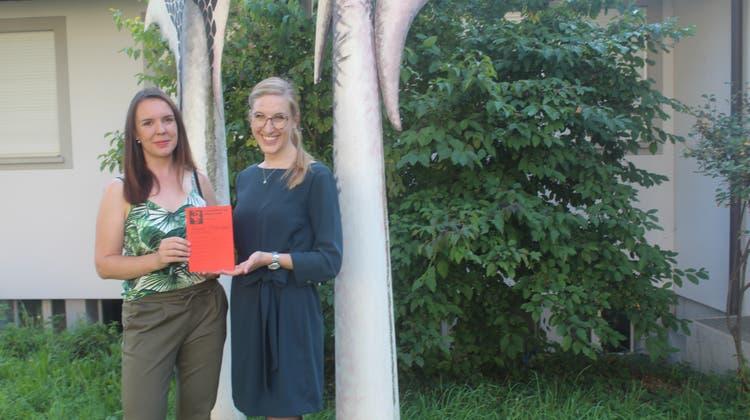 Sabine Frei (links) und Riccarda Kummer freuen sich auf die neue Saison. (André Weyermann)
