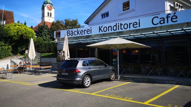 Das Stammhaus der 1880 erstmals  erwähnten Traditionsbäckerei Studler in Seengen. (Urs Helbling / Aargauer Zeitung)