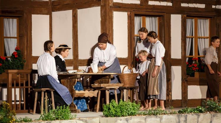 Der Schärer-Micheli wurde 2018 in Lüterswil aufgeführt. (Hanspeter Bärtschi)