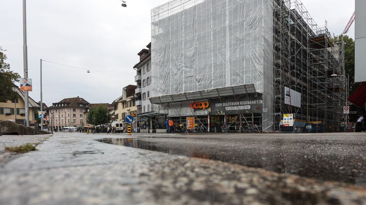 Der Solothurner «Rosengarten» wird umgebaut. (Hanspeter Bärtschi)