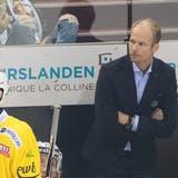 SCB-Trainer Johan Lundskogerlebt einen schwierigen Saisonstart. (Bild: Bastien Gallay/Freshfocus (Genf, 14. September 2021))