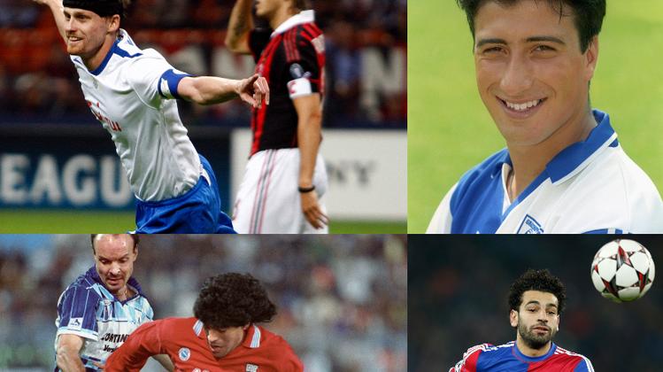 Diego Armando Maradona im Spiel gegen Wettingen. (Keystone)