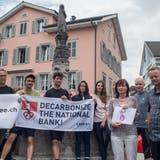 Die Teilnehmer der «Tour de Climat» setzen sich für den Klimaschutz ein. (Bild: PD)