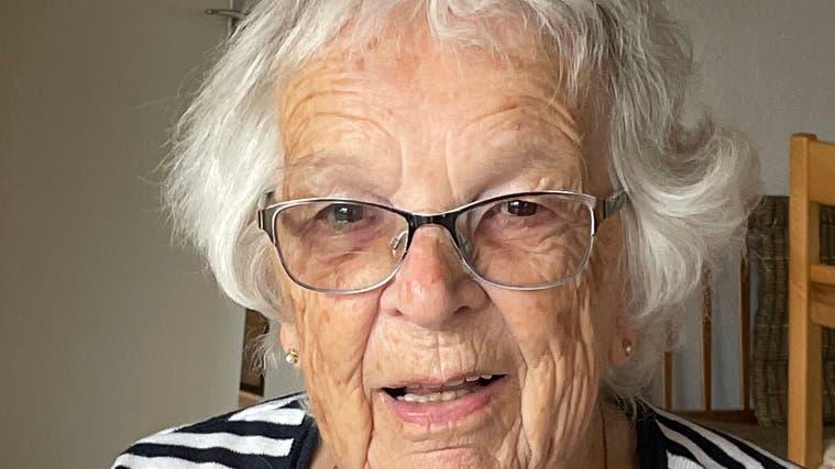 93. Geburtstag Alice Jäggi-Ast