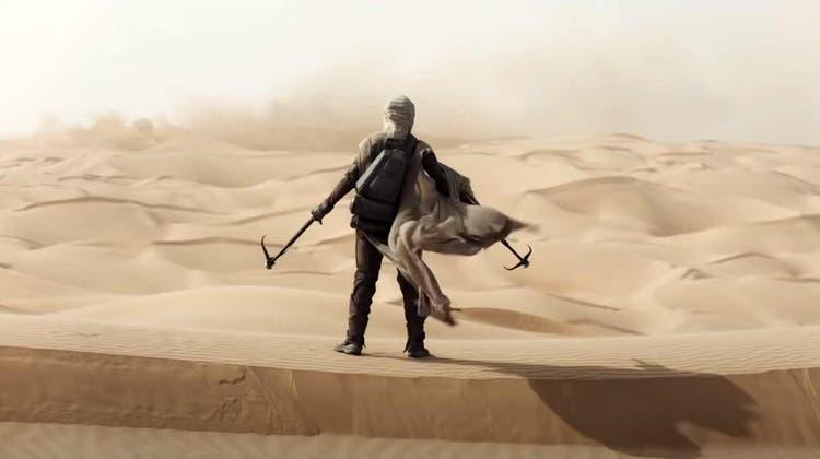Überzeugende Story und starke Bilder auf dem Wüstenplaneten «Dune». (Bild: PD)