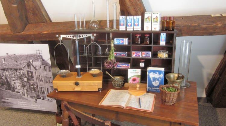 Labortisch im Heimatmuseum Aesch. (zvg)
