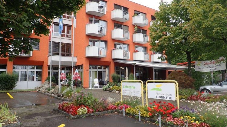 Im Alterszentrum Sunnmatte in Köllikenwird Platz frei. Wie er künftig genutzt werden kann, ist noch offen. (Cynthia Mira / Aargauer Zeitung)