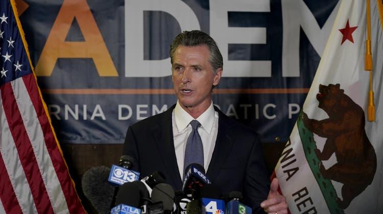 Gavin Newsom wird nicht abberufen (Rich Pedroncelli / AP)