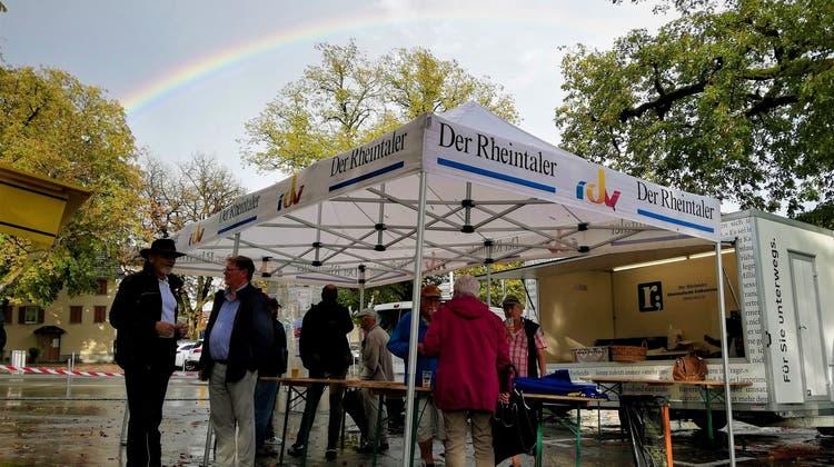 Der Rheintaler: In familiärem Rahmen auf das 175-Jahr-Jubiläum angestossen