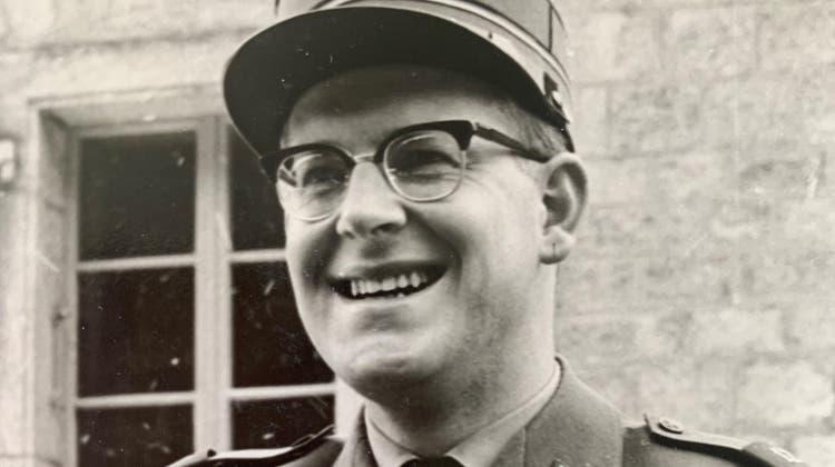 Jules Muheim als Leutnant der Schweizer Armee. (Bild: PD/Staatsarchiv Uri)