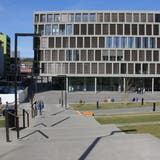 Die Zertifikatspflicht an der FHNW, hier der Standort in Brugg-Windisch, wirft hohe Wellen. (Claudia Meier)