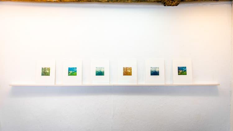 Claudia Leuenbergers Heliogravüren in der  Freitagsgalerie Solothurn. (Michel Lüthi)