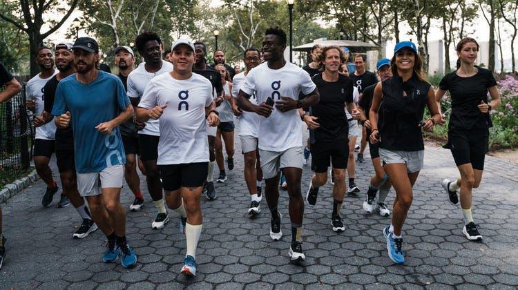 Roger Federer hat stark in die Schweizer Schuhfirma On investiert. (Bild: Samer Alrejjal / BEIN SPORTS)
