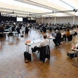An den Sitzungen des Zürcher Kantonsrats in Oerlikon könnte künftig eine Zertifikatspflicht herrschen. (Symbolbild) (Andre Springer)
