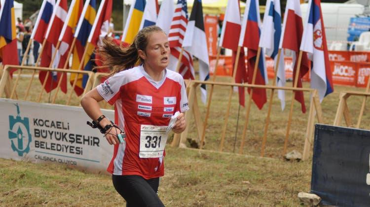 Lilly Graber in Aktion an der Junioren-WM in der Türkei. (Bild:Jacqueline Keller-Werder)
