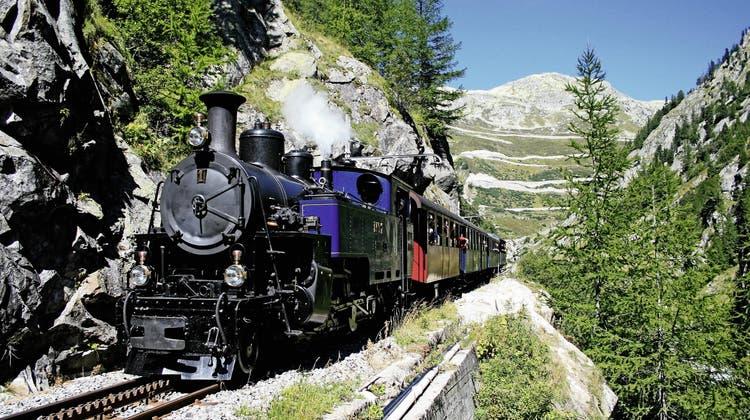 Erlebnisausflug mit der Furka-Dampfbahn inkl. Mittagessen